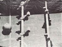 fernsehbild (kicker) i (set of 4) by sigmar polke