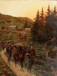 chasseurs alpins by pierre petit-gérard