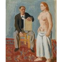 peintre et modèle by wilhelm gimmi