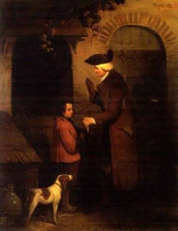 lhomme lenfant et le chien by théodore valerio