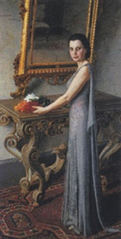 signora in interno by g. campagna