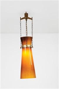 rara lampada a sospensione by studio architetti b.b.p.r. (co.)