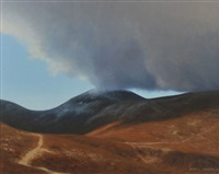 winter cloud touch, the mournes by carol graham