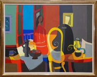 interior by marcel mouly
