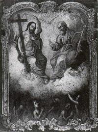intercession of the holy trinity by bernardo rodriguez