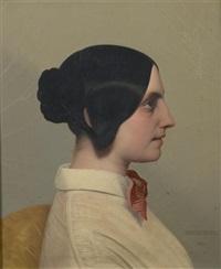 Portrait de Madame Albert Lacroix..., 1845