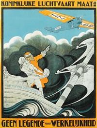 koninklijke luchtvaart maatij/the flying dutchman by anthonius mathieu guthschmidt