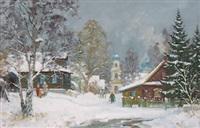 torjok by alexander alexandrovsky
