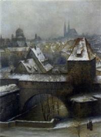 blick über die dächer von nürnberg by wilhelm ritter