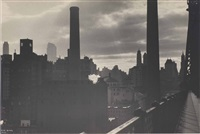 skyline, new york by ilse bing