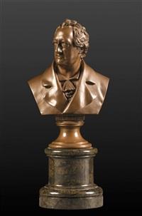 goethe's bust by oskar gladenbeck