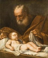 szent józsef a gyermek jézussal by anonymous-italian-bolognese (17)