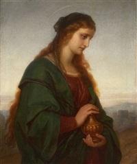 heilige maria magdalena by heinrich hofmann