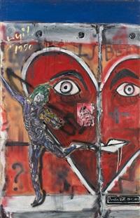 berlin wall 1961-1999 (l'expression devant la lutte) by philippe pasqua