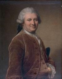 portrait d'homme en buste by jean voilles