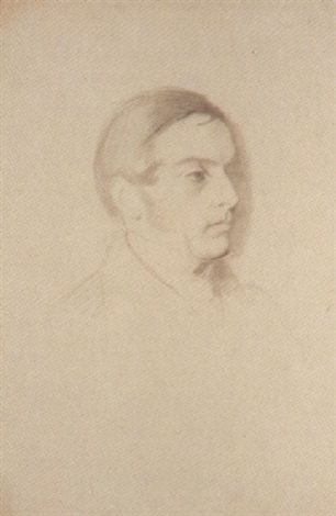 portrait of william edward forster by samuel laurence