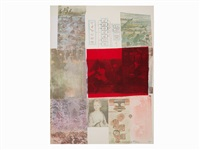 from the seat of... by robert rauschenberg