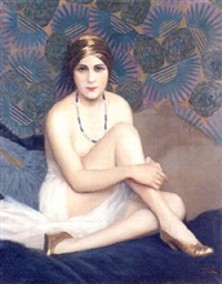 odalisque by jean jannel