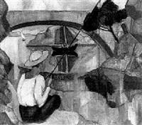angler an der see by herrmann lismann