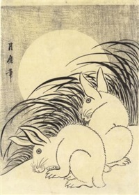 lapains et pleine lune by tsukimaro