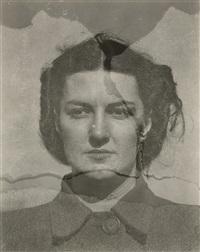 eleanor (double exposure) by harry callahan