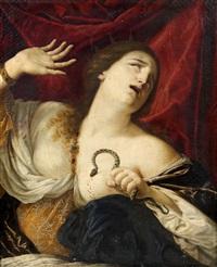 la mort de cléopâtre by cesare dandini