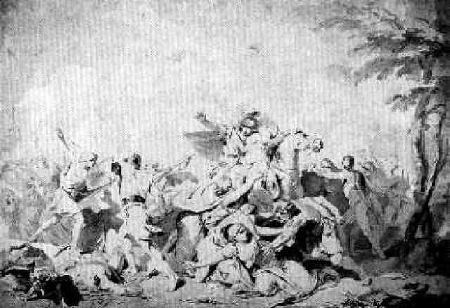 raub der sabinerinnen by laurent pécheux
