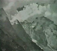 salzburg, hoher goll by bruno hess