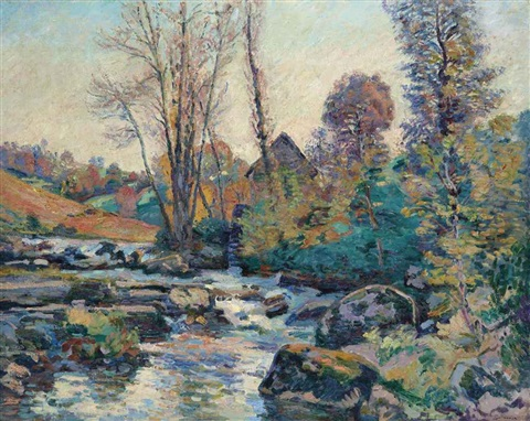 le moulin bouchardon creuse by armand guillaumin