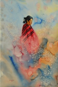 indian girl by gerry michael metz