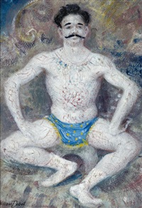 the acrobat by william dobell