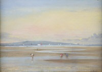 evening, sandymount by david hone
