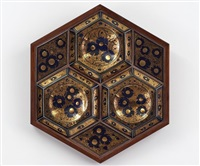daisies and hexagons by esias bosch