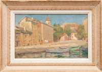 le port de saint florent by edmond vales
