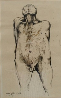sentinel (study for sculpture) by michael ayrton