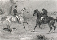hunting scenes by thomas hillier mew