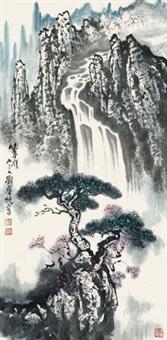 松泉图 by liu baochun