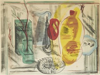 arrangement of jugs by frances mary hodgkins