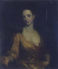 portrait of a young lady by john smibert