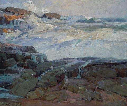 rockbound coast by jack wilkinson smith