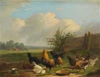chicken run by frans van leemputten