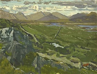 connemara landscape by maurice macgonigal