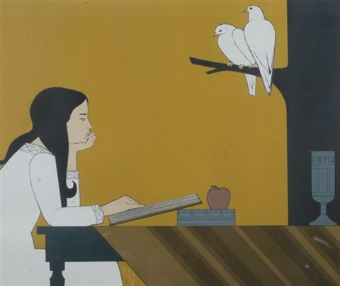 introspection 5733 by will barnet