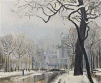 paris sous la neige by f. farago