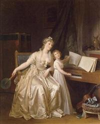 the piano lesson by marguerite gérard