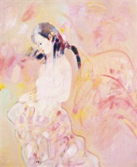裸女 by huang mingzhe