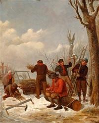 gathering dead wood by jacob akkersdijk