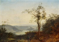 hilly landscape by thomas fearnley