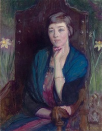 portrait of a friend by ellen day hale