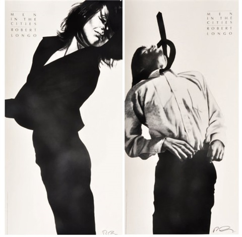 men in the cities 2 works by robert longo